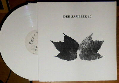 V.a. Der Sampler 10 Line Records Lp Weisses Vinyl White Wax Coloured