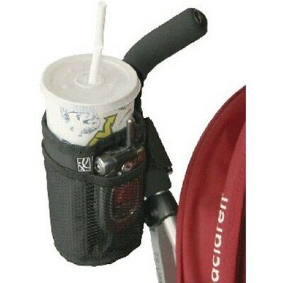 J L Childress Cup 'N Stuff Stroller Pocket, Black