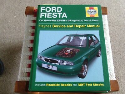 ford fiesta haynes service and repair manual. Black Bedroom Furniture Sets. Home Design Ideas