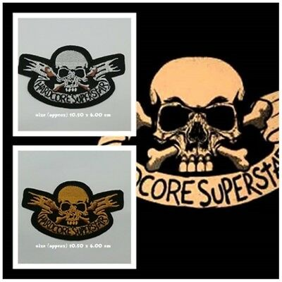 Hardcore Superstar Embroidered Sew Iron on Patch Logo Band Music Rock Indy Metal