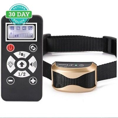 Dog Training Collar Armmi Waterproof Rechargeable 800 Yards Remote Auto Pet S...