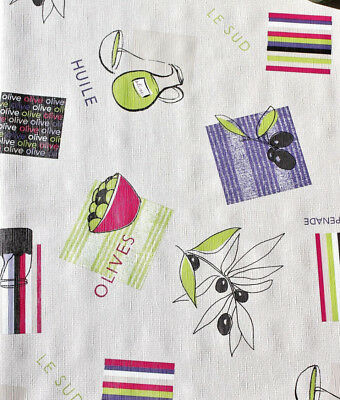 Code Olives PVC Vinyl Wipe Clean Tablecloth ALL SIZES F935-3
