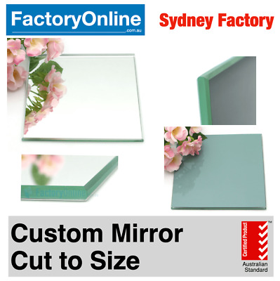 Custom Large Wall Mirror Bathroom Bedroom Frameless Polished Edge DIY Sydney