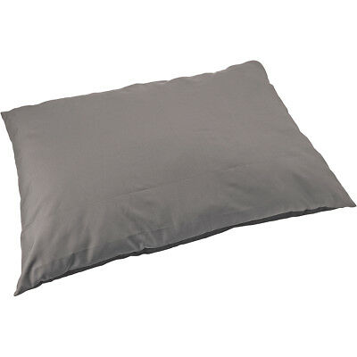 "Sleep Zone 36"" Water Resistant Pillow Dog Bed Gray 33002"