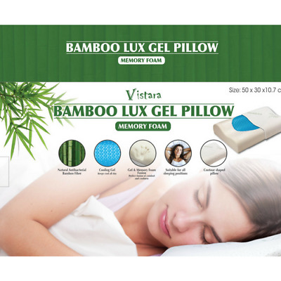 Bamboo Luxe Gel Pillow - FREE SHIPPING