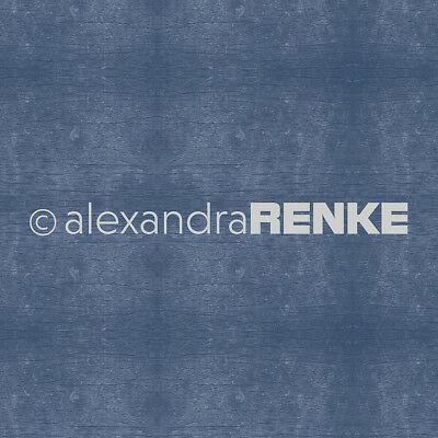 "Alexandra Renke Wooden Structure Basic Design Paper 12""X12"" Dark Cornflower Blue"