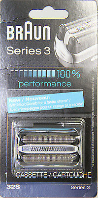 Braun Series 3 32S Replacement part (Silver) TAX INCLUDED