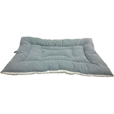 "Sleep Zone 18"" Fashion Bed & Crate Mat Gray 32877"