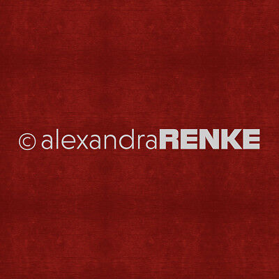 "Alexandra Renke Wooden Structure Basic Design Paper 12""X12"" Dark Red 10450"