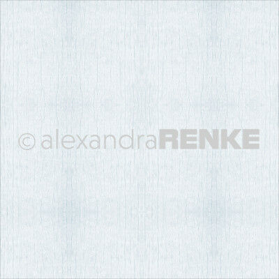 "Alexandra Renke Wooden Structure Basic Design Paper 12""X12"" Light Blue 10545"