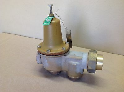 "Watts U5B Z3 Water Pressure Reducing Valve, 1-1/2"" Max 300 psi / 160 degrees NOS"