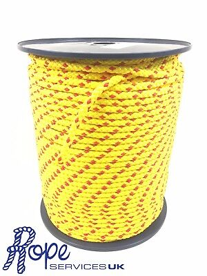 Yellow & Red floating safety life line buoy line rope 6mm 8mm 10mm 12mm