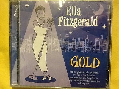 Ella. Fitzgerald.     Gold.    Her. Greatest. Hits.    Two Compact Discs