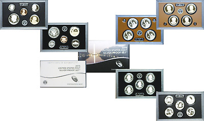 2015-S Silver US Mint Issued 14 Coin Proof Set OGP W/COA