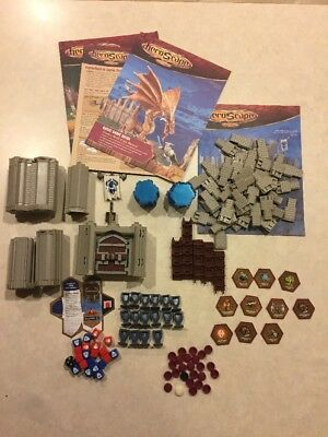 Lot of Heroscape The Battle of All Time Assorted Pieces Incomplete