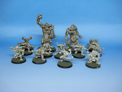 Blood Bowl Goblin Team von Meiko Miniatures (grundiert)