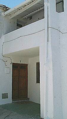 Traditional mountain village house in the Alpujarras, Andalucia, Southern Spain