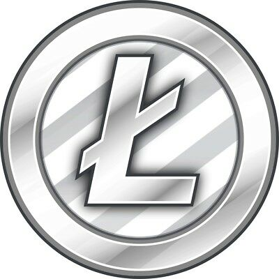 1.0 Litecoin Ltc Lite Coin Crypto Currency - Usa Seller Direct To Your Wallet