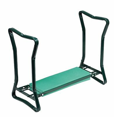 2 in 1 Sturdy Folding Garden Kneeler And Bench - Fold Neatly for Storage