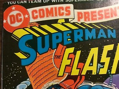 DC Comics Presents Issue 1 Superman And The Flash (DC 1978)
