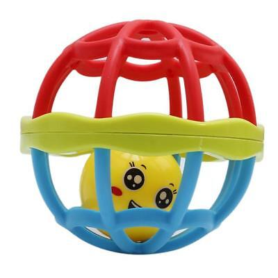 Baby Musical Instrument Hand Shaker Bell Jingle Ring Rattle Ball Toy Z