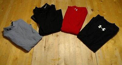 3 UNDER ARMOUR 1 NIKE BOYS LONG sleeve athletic SHIRT top SIZE YLG L LARGE LOT