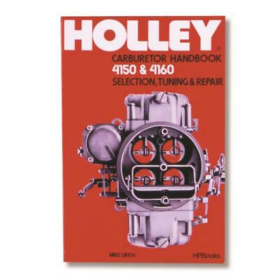 HOW TO BUILD & PowerTune Holley Carburetors Manual New DIY Carb Book