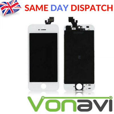 NEW Retina LCD & Digitiser Touch Screen Replacement Assembly For iPhone 5 White