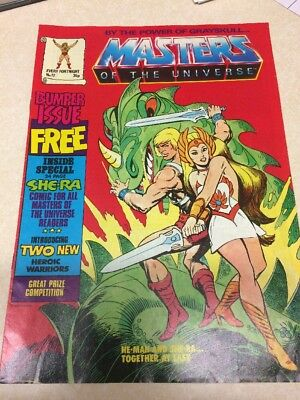 Masters Of The Universe Comic/ Magazine Issue No.12  Vintage