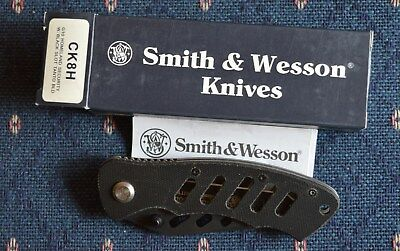 Smith & Wesson Homeland Security Taylor Design Pocket Knife - #ck8H - New In Box