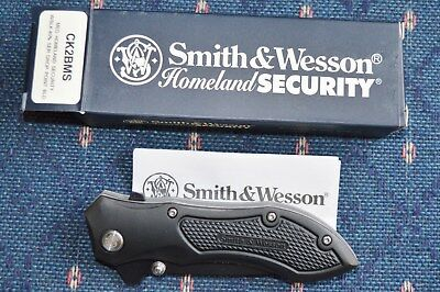 S & W Homeland Security Folding Tactical Knife Model Ck2Bms New In Box
