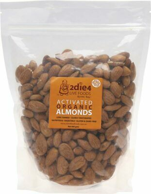 Activated Organic Almonds 600g - 2DIE4 Live Foods