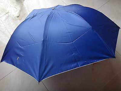 NEW BLUE Cute Super Mini Compact 3 Folding Rain SUN Umbrella for Women MAN GIFT