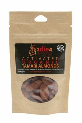 Activated Organic Tamari Almonds 40g - 2DIE4 Live Foods