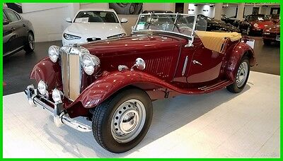 1951 MG Other Roadster '51 MG TD. An unbelievable restoration with strict attention to detail.