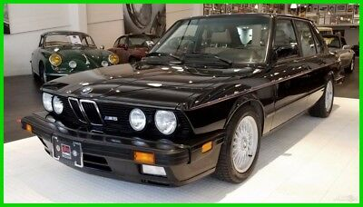1988 BMW M5 Base Sedan 4-Door Incredible M5 under 100k Miles, Documented history, Original paint