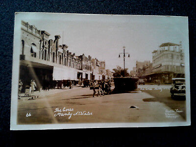 Antique Postcard Photograph The Cross Manly Nsw Australia Kodak1932