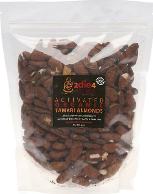 Activated Organic Tamari Almonds 600g - 2DIE4 Live Foods