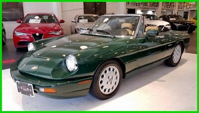1991 Alfa Romeo Spider Veloce Well-cared-for and maintained 40k mile Spider Veloce.