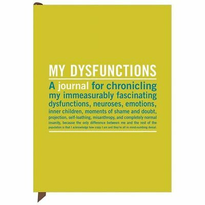 My Dysfunctions Mini Inner Truth Journals by Knock Knock