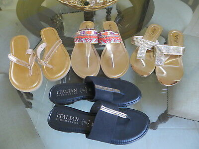 4 Women's Designer SANDALS SHOES LOT-Size 8-ALL IN EXC. CONDITION!