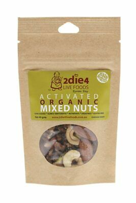 Activated Organic Mixed Nuts 40g - 2DIE4 Live Foods