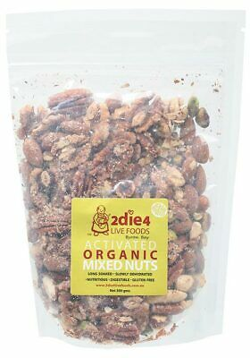Activated Organic Mixed Nuts 300g - 2DIE4 Live Foods