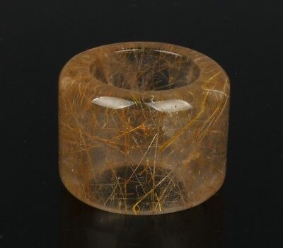 China Exquisite Hand-carved crystal Ring