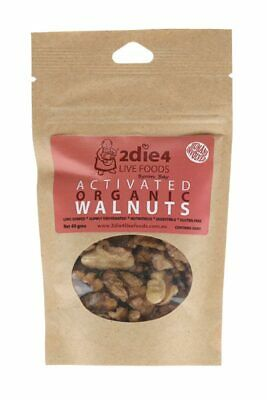 Activated Organic Walnuts 40g - 2DIE4 Live Foods