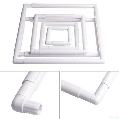 CROSS STITCH TAPESTRY FLOOR STAND Tool Plastic Clip Frame EMBROIDERY 5 SZIES