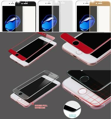 Full Coverage Tempered Glass Screen Protector For iPhone 7 / 7 Plus / 8 / 8 Plus