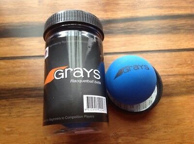 3 x Grays Racquetball Balls