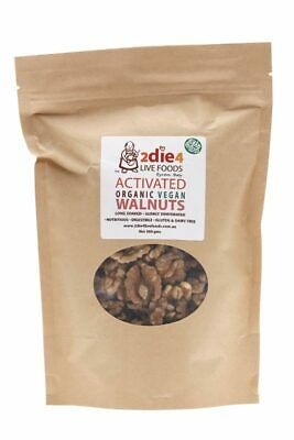 Activated Organic Vegan Walnuts 300g - 2DIE4 Live Foods