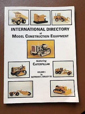 International Directory of Model Construction Equipment, Featuring Caterpillar